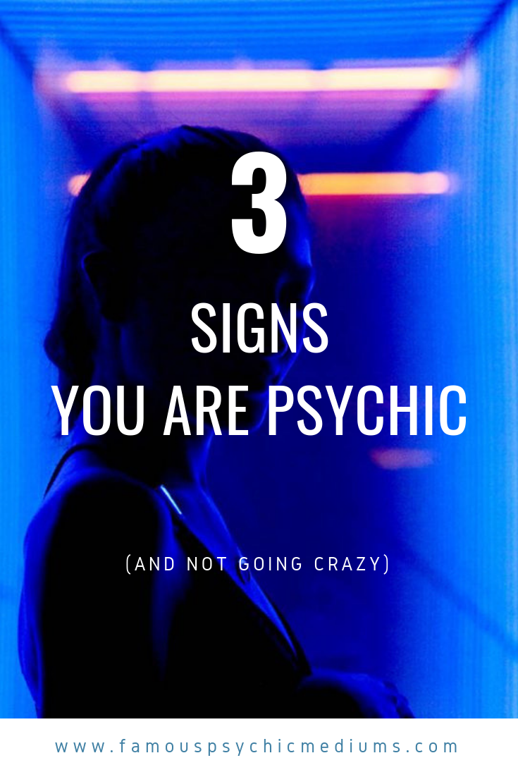signs you are psychic