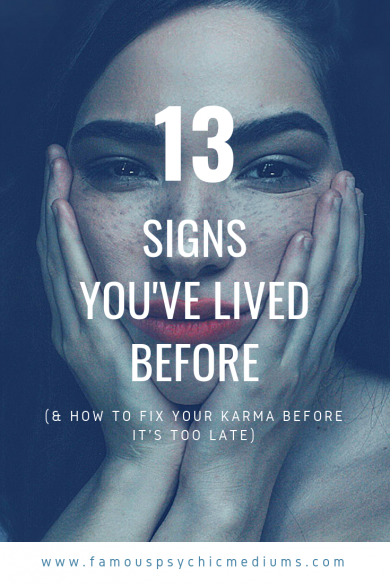 signs you've lived before