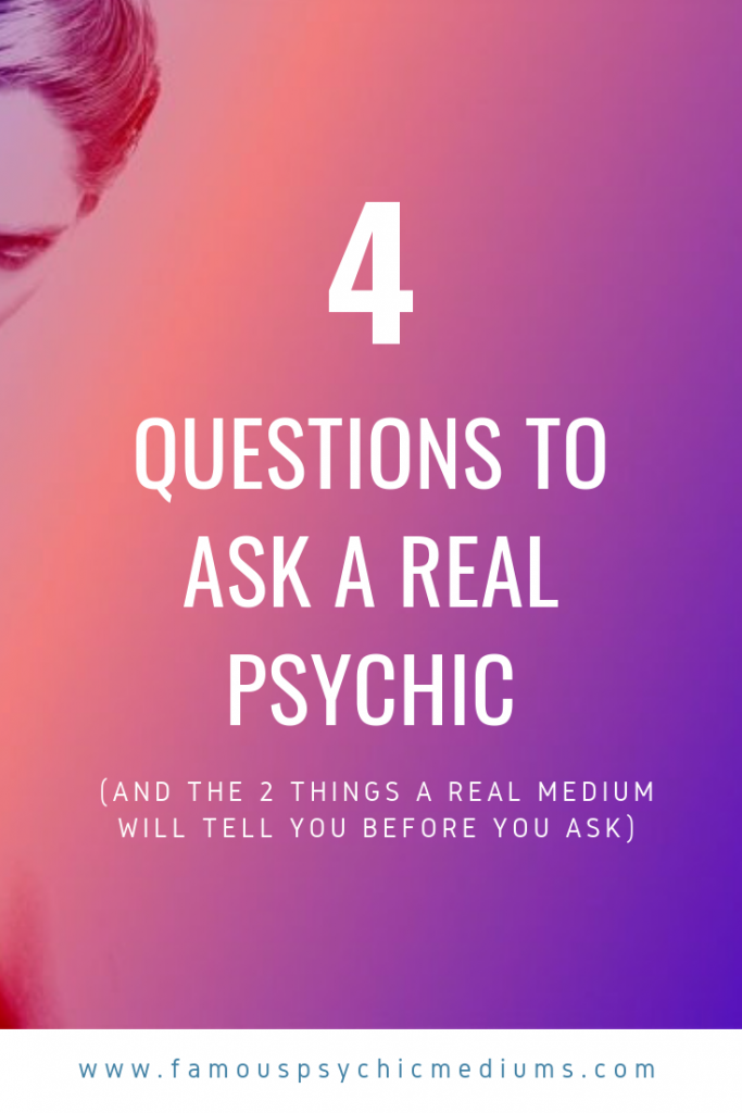 4 psychic questions