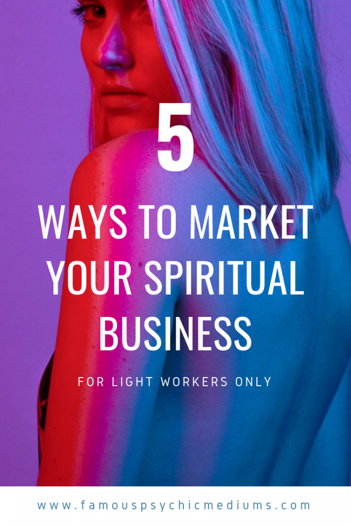 how to promote a spiritual business