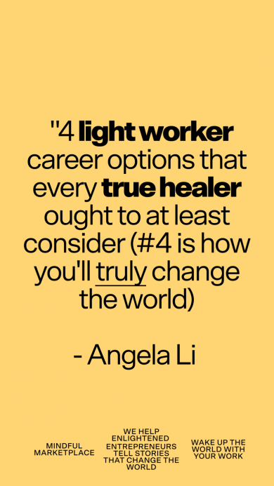 the best careers for light workers