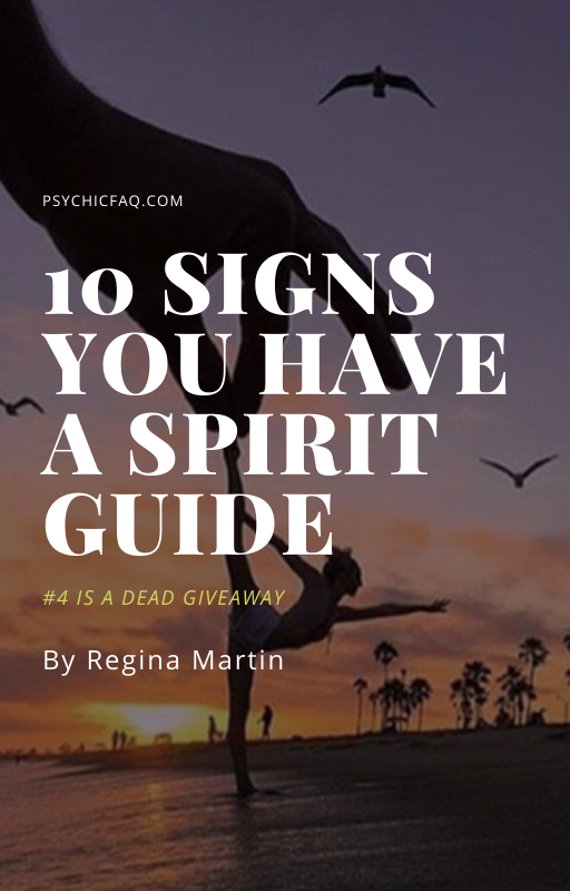 you have a spirit guide